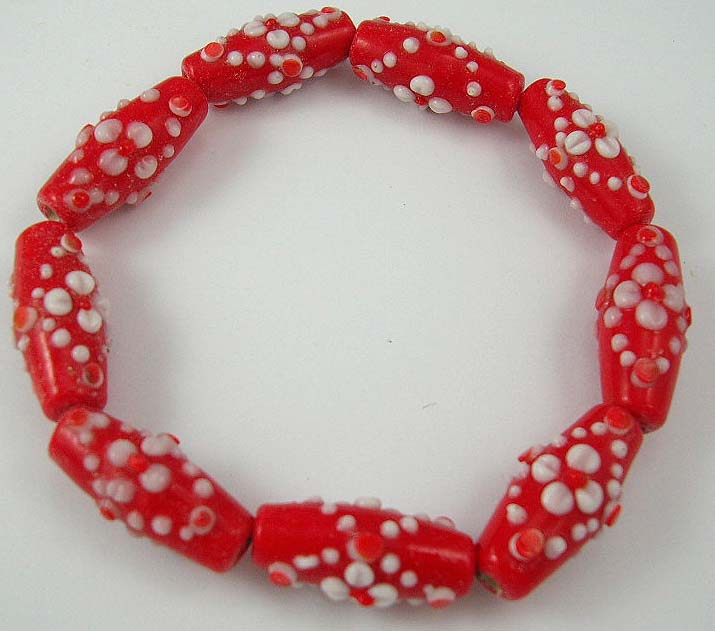 design fashion costume jewelry 925 sterling silver manufactures red beaded bracelet with white seashell decoration