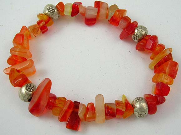 exotic charm online wholesale brings red flaming style jade bracelet to give energy
