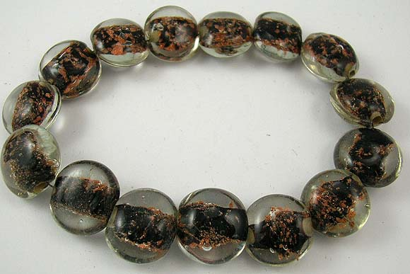 wholesale inexpensive jewelry online store presents man-made semi-transparent charm bracelet