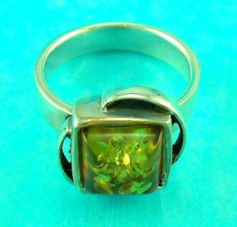 wholesale cheap online jewelry shop manufactures unique amber ring
