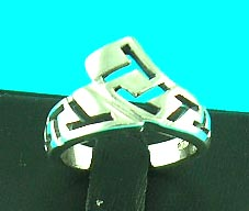 wholesale magnetic sliver jewelry fashion store delivers tribal symbol sliver ring, great for guys