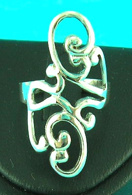 art jewelry cheap store manufactured filigree styled ring