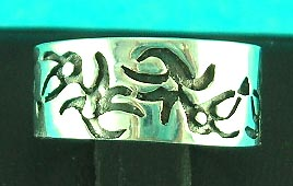 wholesale fine jewelry store delivers brings native symbol styled silver ring