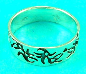 luxury jewelry design shop distribute artistically designed tribal styled ring, great for gift
